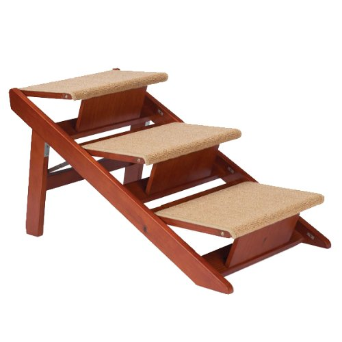 Pet Studio Pine Frame Dog Ramp Steps Review