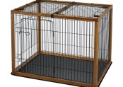 Richell Wood Pet Pen 120-90 Combo Review