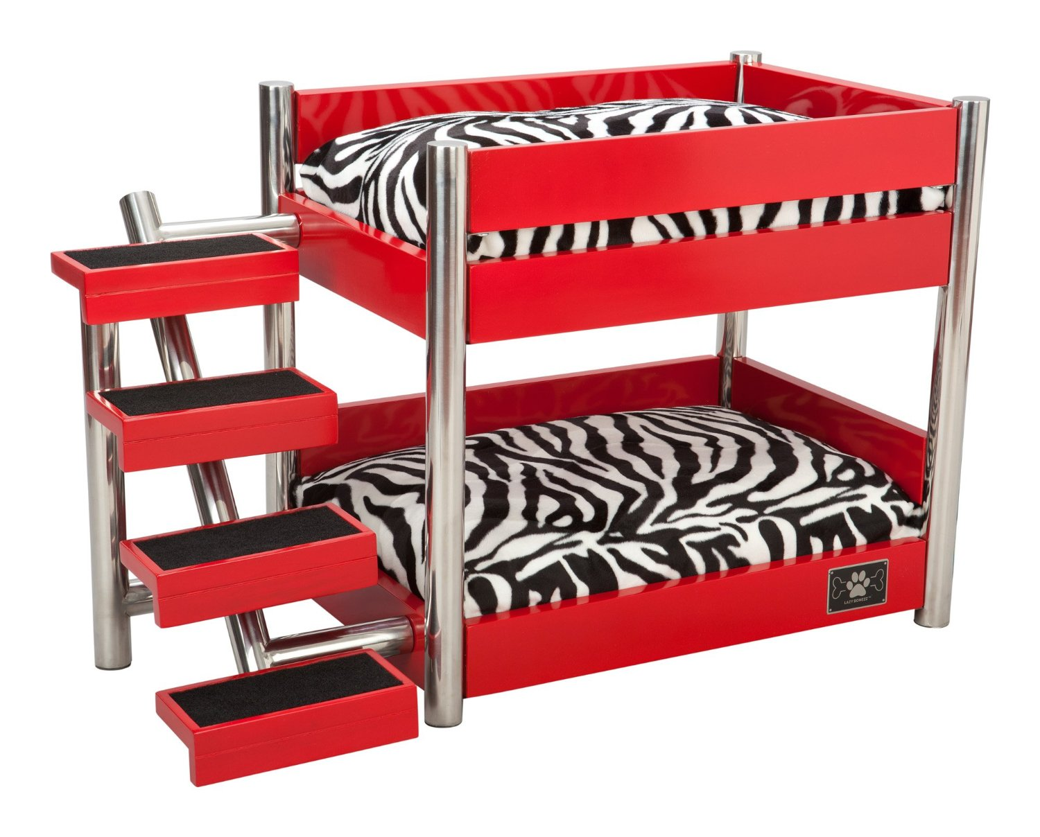 stairs for dogslazybonezz metropolitan pet bunk bed review. Black Bedroom Furniture Sets. Home Design Ideas